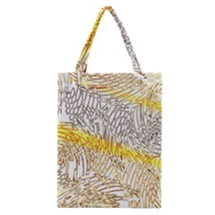 Abstract Composition Digital Processing Classic Tote Bag