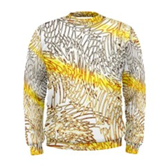 Abstract Composition Digital Processing Men s Sweatshirt