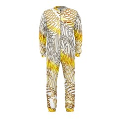 Abstract Composition Digital Processing OnePiece Jumpsuit (Kids)