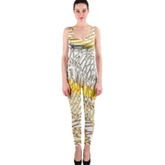 Abstract Composition Digital Processing OnePiece Catsuit