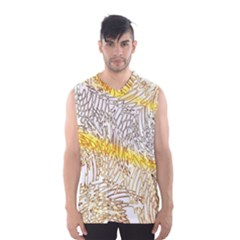 Abstract Composition Digital Processing Men s Basketball Tank Top