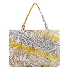 Abstract Composition Digital Processing Medium Tote Bag