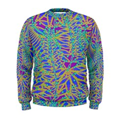 Abstract Floral Background Men s Sweatshirt