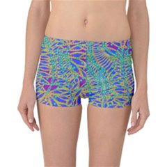Abstract Floral Background Reversible Bikini Bottoms