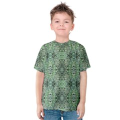 Seamless Abstraction Wallpaper Digital Computer Graphic Kids  Cotton Tee