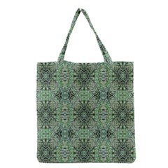 Seamless Abstraction Wallpaper Digital Computer Graphic Grocery Tote Bag