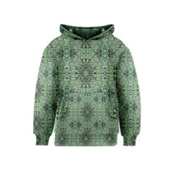 Seamless Abstraction Wallpaper Digital Computer Graphic Kids  Pullover Hoodie