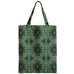 Seamless Abstraction Wallpaper Digital Computer Graphic Zipper Classic Tote Bag