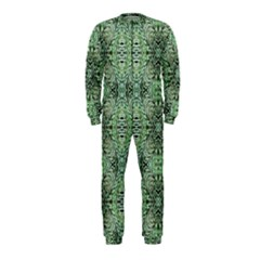 Seamless Abstraction Wallpaper Digital Computer Graphic Onepiece Jumpsuit (kids)