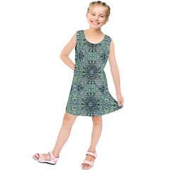 Seamless Abstraction Wallpaper Digital Computer Graphic Kids  Tunic Dress