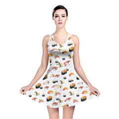 Sushi Lover Reversible Skater Dress