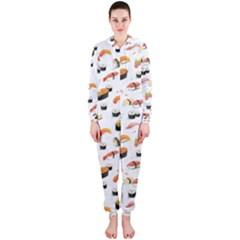 Sushi Lover Hooded Jumpsuit (ladies)