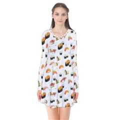 Sushi Lover Flare Dress