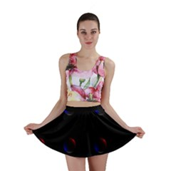 Tranquil Abstract Pattern Mini Skirt