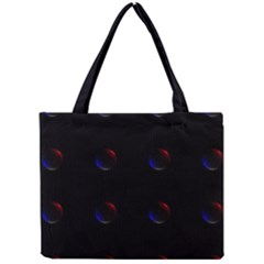 Tranquil Abstract Pattern Mini Tote Bag