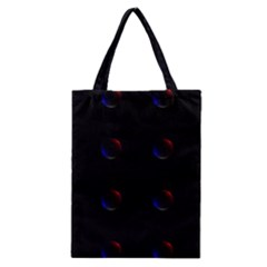 Tranquil Abstract Pattern Classic Tote Bag