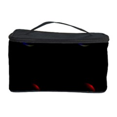 Tranquil Abstract Pattern Cosmetic Storage Case