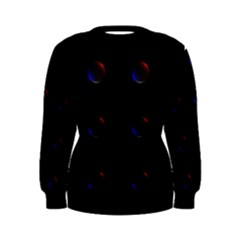 Tranquil Abstract Pattern Women s Sweatshirt