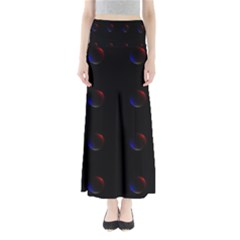 Tranquil Abstract Pattern Maxi Skirts
