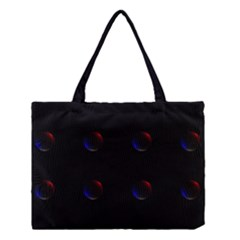 Tranquil Abstract Pattern Medium Tote Bag