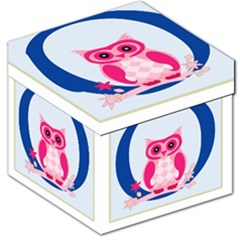 Alphabet Letter O With Owl Illustration Ideal For Teaching Kids Storage Stool 12
