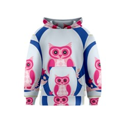Alphabet Letter O With Owl Illustration Ideal For Teaching Kids Kids  Pullover Hoodie