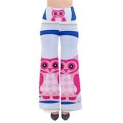 Alphabet Letter O With Owl Illustration Ideal For Teaching Kids Pants