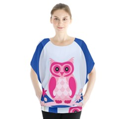 Alphabet Letter O With Owl Illustration Ideal For Teaching Kids Blouse