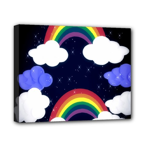 Rainbow Animation Canvas 10  x 8