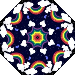 Rainbow Animation Golf Umbrellas