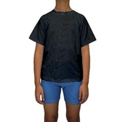 Abstract Clutter Kids  Short Sleeve Swimwear
