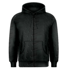 Abstract Clutter Men s Zipper Hoodie