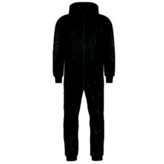 Abstract Clutter Hooded Jumpsuit (Men)