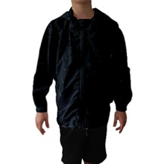 Abstract Clutter Hooded Wind Breaker (kids)