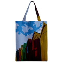Brightly Colored Dressing Huts Classic Tote Bag