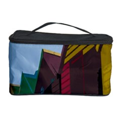 Brightly Colored Dressing Huts Cosmetic Storage Case