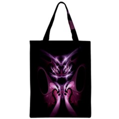 Angry Mantis Fractal In Shades Of Purple Classic Tote Bag