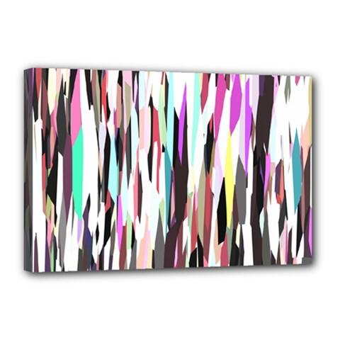 Randomized Colors Background Wallpaper Canvas 18  X 12