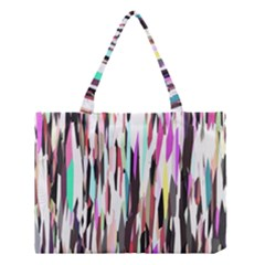 Randomized Colors Background Wallpaper Medium Tote Bag