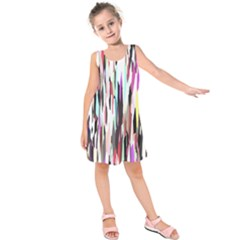 Randomized Colors Background Wallpaper Kids  Sleeveless Dress