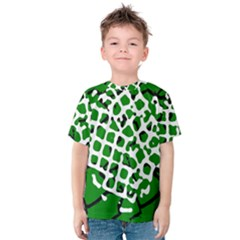 Abstract Clutter Kids  Cotton Tee