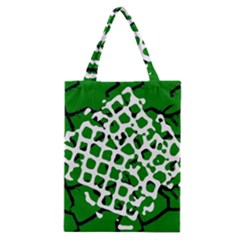 Abstract Clutter Classic Tote Bag