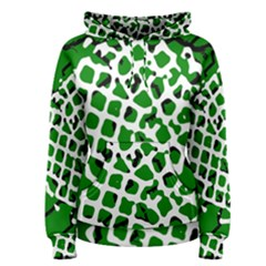 Abstract Clutter Women s Pullover Hoodie