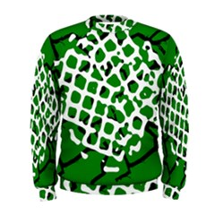 Abstract Clutter Men s Sweatshirt