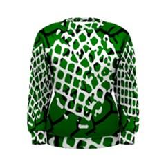 Abstract Clutter Women s Sweatshirt