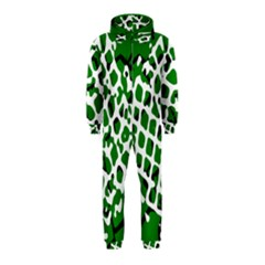 Abstract Clutter Hooded Jumpsuit (Kids)