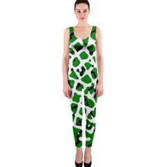 Abstract Clutter OnePiece Catsuit