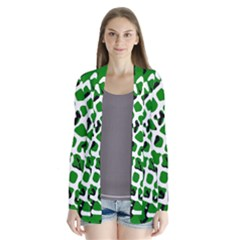 Abstract Clutter Cardigans