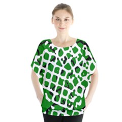 Abstract Clutter Blouse