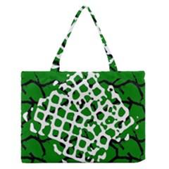 Abstract Clutter Medium Zipper Tote Bag